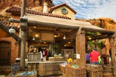 Healthy snacks like fruit, veggies, hummus & chips, Greek yogurt, and more now available in New Fantasyland at Prince Eric's Village Market!