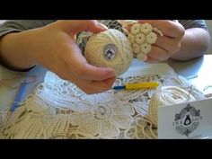How to do Romanian Point Lace Cords - YouTube