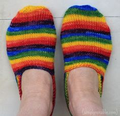 Knitted Turkish Bed Socks