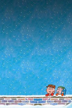 peanuts christmas iPhone wallpaper