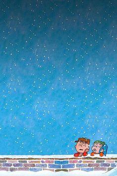 peanuts christmas iPhone wallpaper