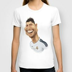 #CR7 - #RealMadrid T-shirt  Men/Women/Kids by Sant Toscanni - $22.00