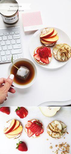 Toast, mascarpone, and fruits by Le Zoe Musings 2 #tea #recipes