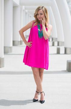 #pinkdress #fashion #wedding #summerfashion