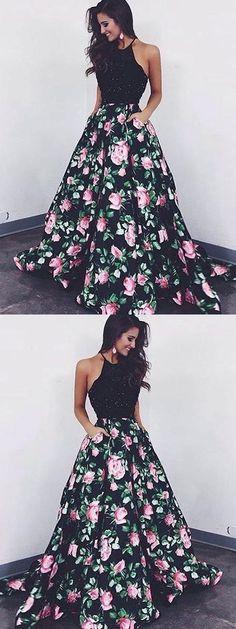 Prom Dresses Long, Black Prom Dresses, Beautiful Prom Dresses, A-Line Prom Dresses, 2018 Prom Dresses Prom Dresses 2019 Source by profsarabou Prom Dress Two Piece, Prom Dress Black, Prom Dresses Long Modest, Floral Evening Dresses, Prom Dresses 2018, A Line Prom Dresses, Beautiful Prom Dresses, Trendy Dresses, The Dress