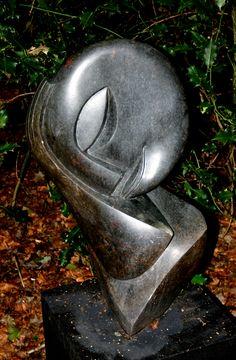 """Steinskulptur aus Simbabwe """" Der Schlafende"""""""