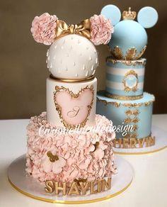 22 Cute Minnie Mouse Cake Designs Cake 22 Cute Minnie Mouse Cake Designs - The Wonder Cottage Minnie Mouse Cake Design, Minnie Cake, Gateau Baby Shower, Baby Shower Cakes, Shower Baby, Minnie Birthday, Birthday Parties, Birthday Cake Disney, Princess Birthday