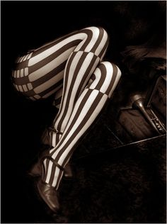 Striped Stockings Photo by Veselka Tsvetanova