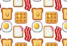 Start your day off great with some breakfast themed pixel art! Drawn in Adobe Photoshop, these sweet creations serve as desktop icons, avatars, or game icons. Learn the basics of shape creation, anti-aliasing, and choosing colors. | Difficulty: Intermediate; Length: Medium; Tags: Adobe Photoshop, Pixel Art, Icon Design, Illustration
