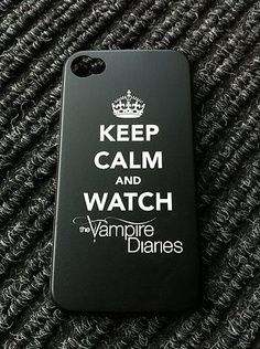 OMG. The vampire diaries phone case. I NEED ONE :o #TVD