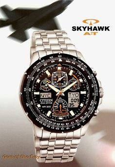 Citizen, Skyhawk AT Best watch ever!! And even better with 20% off our already lower than retail pricing! plus you save the tax! Westcoastdutyfree.com