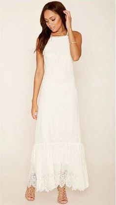 beee164ef3e It s still summer! 28 pretty white dresses to wear before it s too late