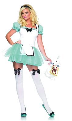 Our deluxe enchanted Alice costume is a great costume idea for Halloween. This enchanted Alice costume looks great with an Alice in Wonderland group costume! New Halloween Costumes, Halloween Dress, Adult Costumes, Costumes For Women, Cosplay Costumes, Halloween 2013, Alice Halloween, Adult Halloween, Cosplay Ideas