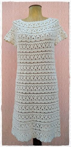 louca por linhas - crochet e patchwork: Vestido Lily
