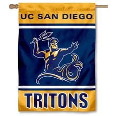 UC Davis Aggies Double Sided and Two Sided House Flag