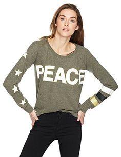 Womens Long Sleeve Sweatshirt Love Light Design Medium Large American Apparel Raglan Pullover Small
