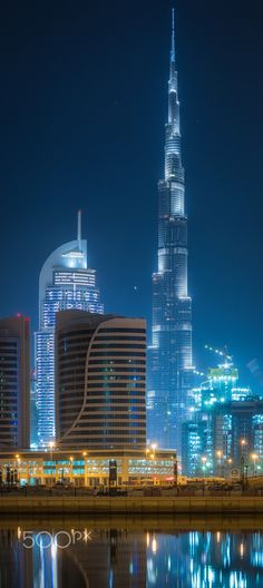 Burj Khalifa by Simone Castoldi . Burj Khalifa, known as Burj Dubai prior is… Dubai City, Dubai Uae, Futuristic Architecture, Amazing Architecture, Abu Dhabi, Places To Travel, Places To See, Places Around The World, Around The Worlds