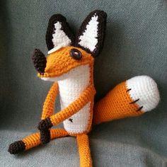 Лис #амигуруми #игрушкиручнойработы #вязаныеигрушки #вязание #вязаныеизделия #handmade #игруш #подарок