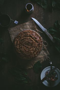 Winter Squash Coffee Cake With A Ginger Caramel Sauce