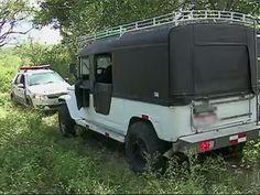 DE OLHO 24HORAS: Terreno para desmanche de carros é encontrado em C...