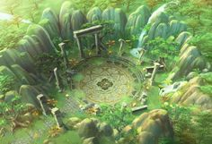 ArtStation - 'Blade' Concept Art - Theme01. Old Forest, Arthur Lee