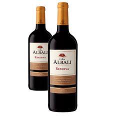 Vin Viña Albali Valdepeñas Réserve Rouge 75Cl- LOT DE 2