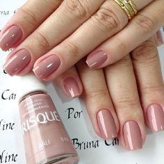 Gel Nail Designs You Should Try Out – Your Beautiful Nails Perfect Nails, Gorgeous Nails, Cute Nails, Pretty Nails, Hair And Nails, My Nails, Gel Nagel Design, Simple Nail Designs, Nagel Gel