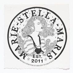 Marie-Stella-Maris logo design by Susan Meinen