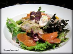 #3 Nicoise Salade with Scottish Salmon - RM28