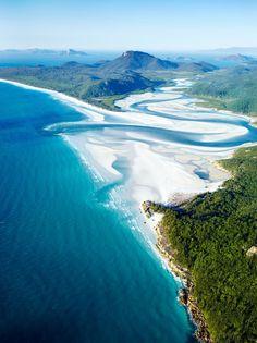 Take flight over astounding views in Queensland.