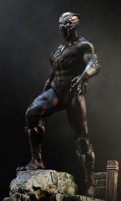 Black Panther Images, Black Panther Art, Black Panther Marvel, Jack Kirby, Stan Lee, Marvel Vs, Marvel Heroes, Marvel Statues, Silver Age Comics