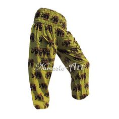 Indian Cotton Unisex Yoga Trousers Gypsy Hippie Aladdin Baggy Casual Harem Pants #Unbranded #Harem