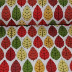 Poplin bumbac – Autumn leaves Poplin, Autumn Leaves, Textiles, Crochet, Model, Chrochet, Mathematical Model, Crocheting