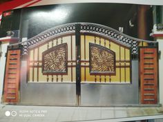House Main Gates Design, Stainless Steel Handrail, Industrial, Home, Stainless Steel Railing, Ad Home, Industrial Music, Homes, Haus