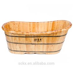 Solid cedar water fountain tub, walk in tub shower combo