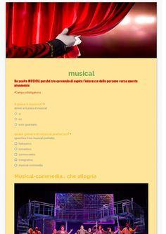 teatro,sondaggio personale  1E Alberghiero - SONDAGGI: personale - Community - Google+