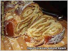 almond bread , an advanced bake that makes you swoon with almondine goodness Traditional Ukrainian Recipes & International Cuisine Ukrainian Desserts, Ukrainian Recipes, Russian Recipes, Ukrainian Food, Russian Foods, Strudel, Croissants, Polish Recipes, Polish Food