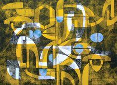 Africa_72 Sandra Kelch mono print collage