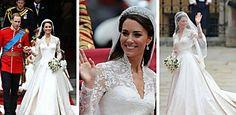 ¡Estos son los 10 vestidos de novia más caros de la historia!