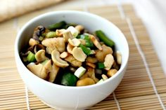 Cashew Chicken Recipe healthier-poultry-recipes