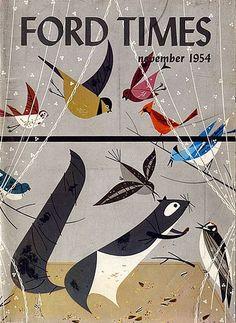 Charley Harper illustrations