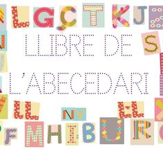Llibre de l'abecedari. Conte, Literacy, Alphabet, Happy Birthday, Language, Bullet Journal, Classroom, Kids Rugs, Album