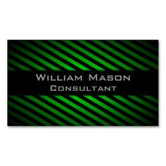 Solar panel green energy business card business card pinterest black and green striped professional business card reheart