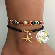 39 Latest Jewelry Bracelets Ideas For Women Ankle Jewelry, Ankle Bracelets, Jewelry Bracelets, Bracelet Patterns, Bracelet Designs, Bead Jewellery, Beaded Jewelry, Beaded Anklets, Bracelet Crafts
