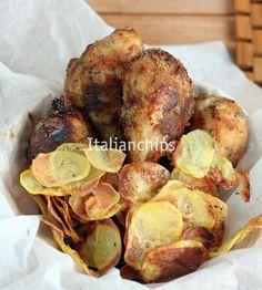 pollo fritto ...al forno