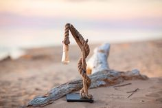 Driftwood lamp with handmade nails  SAILOR. Home by Glighthouse