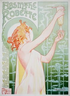 "When Parisians used to call it ""la fée verte"" (the green fairy), the custom of drinking absinthe had became so popular in bars, bistros, cafés, and cabarets that, by the 1860s, the hour of 5 p.m. was called l'heure verte (""the green hour""). It was a green and ghoulish drink traditionally served by p"