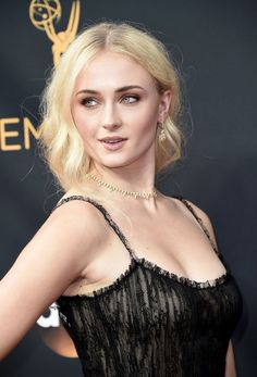 SOPHIE TURNER – 68TH ANNUAL PRIMETIME EMMY AWARDS