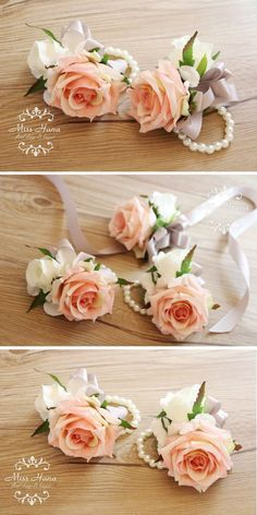 Hey, I found this really awesome Etsy listing at https://www.etsy.com/listing/174020461/pink-rose-wrist-corsage-bridesmaid