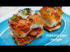 Masala pav recipe | How to make mumbai street style masala pav